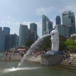 Simbol Singapurja Merlion se poslavlja