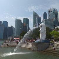 Kip Merlion v Singapurju